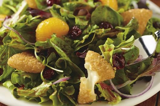 winter brie salad